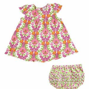 Vera Bradley Lilli Bell Baby Dress and Bloomers